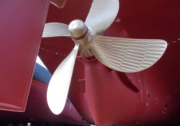 Benjamin Oldendorff Propeller Launching 15 Feb 20
